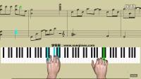 学琴屋《冰雨》简五谱 钢琴教学
