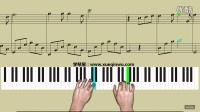 学琴屋《第几个100天》简五谱 钢琴教学