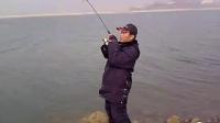 冬季水库大风天气路亚大草鱼 已用