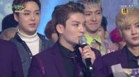 160129 KBS音乐银行 Teentop 一位受赏&安可舞台