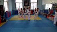 艺海艺体●跆拳道舞(FIRE),平均道龄6个月,8课时的成果