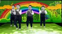 中班舞蹈-奔跑吧兄弟-丹东红苹果幼儿园2016年最新搞笑幼儿春晚