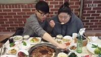 1110韩国吃播,吃出个未来·韩国女主播吃货韩国吃播吃饭直播真的是什么都吃,大胃王减肥美食视频美食人生大学生做菜