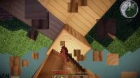 【浣麟】x【铁块】我的世界科技世界Ⅱ 生存 ep4  暮色小木屋~~