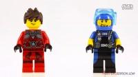 5004077 积木砖家乐高LEGO Exclusive MINIFIGURE Cube Gift Box Stop Motion Review