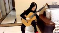 山西太原郭利民古典吉他工作室刘童妍练习维拉·罗伯斯《练习曲第一号》