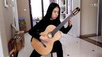 山西太原郭利民古典吉他工作室刘童妍练习巴赫bwv1007前奏曲