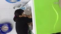 2016.02.02.下午在合肥皖江路母婴店游泳洗澡