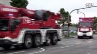 德国消防车系列-[Droht Baukran umzustürzen] FwK 60 + WLF AB + Kdow BF  FW Nord