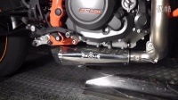 KTM Duke 690 REMUS 钛合金全段Underfloor