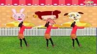 阿娜广场舞【采蘑菇的小姑娘】正反面加分解 儿童歌曲舞蹈