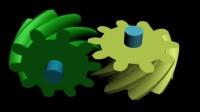 机械原理139个机构动画 N51-6工作原理动画