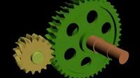机械原理139个机构动画 N51-4工作原理动画