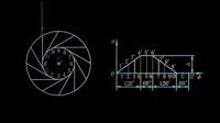 机械原理139个机构动画 N45-1工作原理动画
