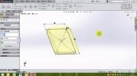 SolidWorks2014第十七讲:零件实战三部分(叉架类-ftc空白制作)