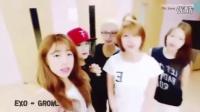 【韩国女团】韩国女团跳男团舞蹈合集