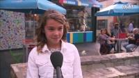 国外街头采访:孩子眼中什么是爱