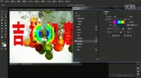 PS cc2015版全解视频教程 36 图层样式 4 光泽和颜色图案的叠加效果