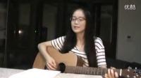 夜空中最亮的星 吉他弹唱 女生版 翻唱 逃跑计划吉他教学美女吉他弹唱吉他教程 吉他教学入门自学指弹 大师视频演奏jita
