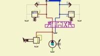 压力回路 溢流阀的制动回路1 教学用素材