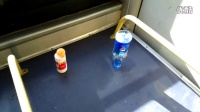 (3)行车10.3公里,准时到达终点,吉林公交郑重超常发挥的极限,你敢挑战吗?空瓶不倒,乒乓球只掉落一次!