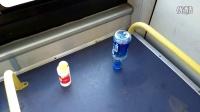 (1)行车10.3公里,准时到达终点,吉林公交郑重超常发挥的极限,你敢挑战吗?空瓶不倒,乒乓球只掉落一次!