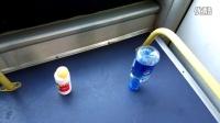 (2)行车10.3公里,准时到达终点,吉林公交郑重超常发挥的极限,你敢挑战吗?空瓶不倒,乒乓球只掉落一次!