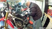 [摩托车之家]越野性能改装:EJK安装在本田CRF250L越野车