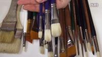 精打细算!!油画笔的挑选和保养秘籍