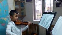 小提琴《查尔达什》俞炘炀小朋友
