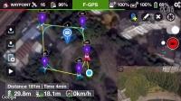 Litchi地面站航线规划软件实际测试
