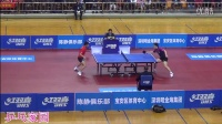 【侧面视角】张继科vs樊振东 2016年深圳热身赛