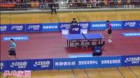 【侧面视角】马龙vs樊振东 2016年深圳热身赛