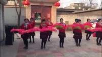 西长店广场舞红红的日子二期
