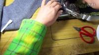 家用缝纫机卷边器使用演示老熊退休了熊老师钩编