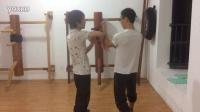 #学咏春拳#和师弟对练