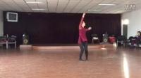 朱老师舞蹈系列----,《桃花谣》背面