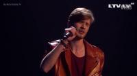 2016欧洲电视网歌唱大赛【拉脱维亚】Justs_-_Heartbeat