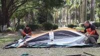 新双人大帐篷-搭帐