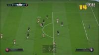 FIFA16高光时刻【你的装X舞台】- 克奎林自导自演16脚传递TIKI TAKA