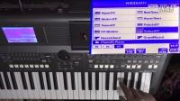 雅马哈PSR-S670操作视频教程第一集:音色操作