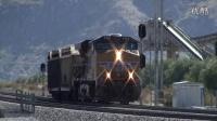联合太平洋和美铁的列车视频集