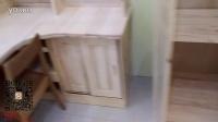 实木儿童床子母床实木桌椅沙发躺椅摇椅架子家具家居产品视频