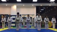 跆拳舞慢动作教学