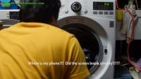 把三星S7放到滚筒洗衣机里45分钟会发生什么