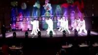 香港老年国际艺朮节江西上犹老年体协代表队演出《花样太极拳》