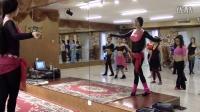 肚皮舞基础入门教学视频 round step步法教学 北京格洛莉雅樱子老师