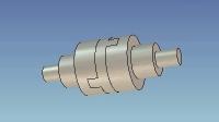机械设计技术 教学视频素材 十字滑块联轴器