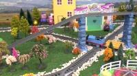 【奇趣箱】托马斯小火车和小猪佩奇,在多多岛寻找闪闪发亮的奇趣蛋。