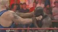 奥尼尔暴打美国职业摔跤两大巨星NBAvsWW爆